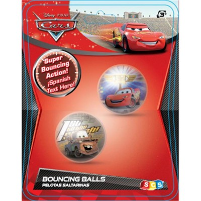 IMC Cars bouncing ball 2D - Jouet 1er âge - multicolore