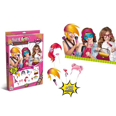 CANAL TOYS Selfie-booth délire girl - multicolore