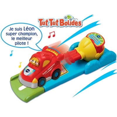 VTECH Tut tut bolides - Lanceur press n'go - multicolore