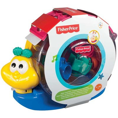 FISHER PRICE Animablocs - Escargot Musical - multicolore