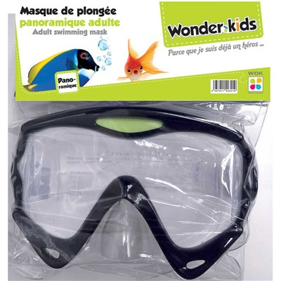 WONDERKIDS Masque de plongée - Plage et plein air - multicolore
