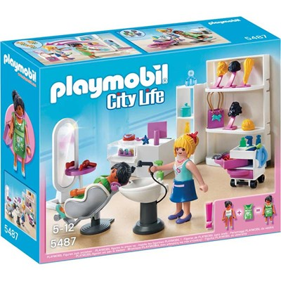 PLAYMOBIL City Life - Salon de beauté - multicolore