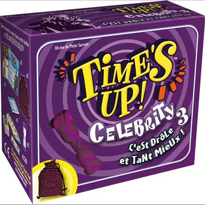 ASMODEE EDITIONS Time's Up! Celebrity 3 - Jeu de société - multicolore