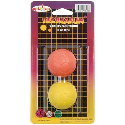WDK PARTNER Lot de 2 balles - multicolore