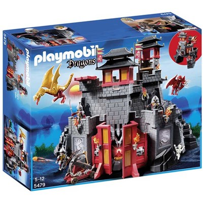 PLAYMOBIL Dragons - Forteresse impériale du dragon - multicolore