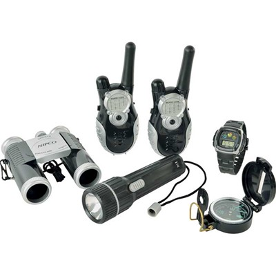 WDK PARTNER Set aventure talkie walkie - multicolore