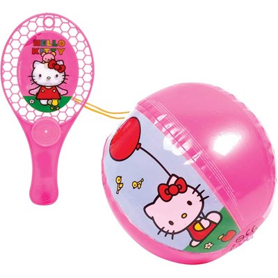 TAP BALL 2000 Tape balle hello kitty - Jeu d'extérieur - multicolore