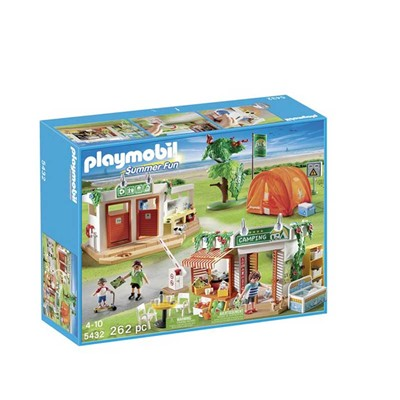 PLAYMOBIL Summer fun - Terrain de camping - multicolore