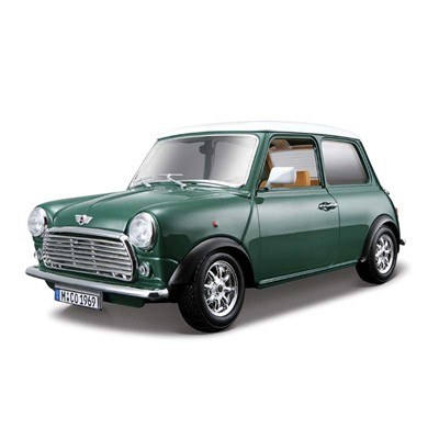 BURAGO Mini Cooper 1969 - Voiture de collection - multicolore