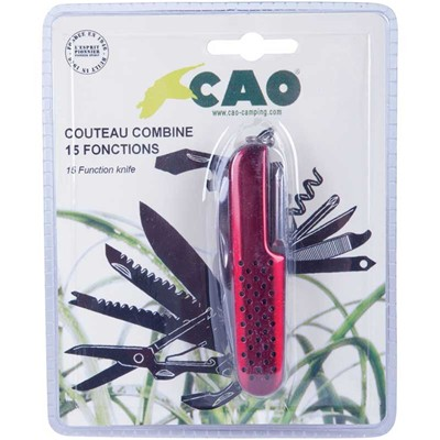 CAO CAMPING Couteau multifonction - multicolore