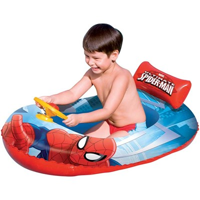 BESTWAY Canot pneumatique Spiderman - multicolore
