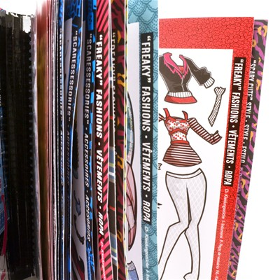 WDK PARTNER Monster high - Album de stickers - 8+