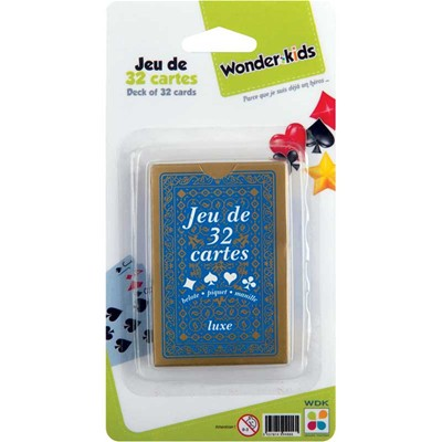 WONDERKIDS Jeu de 32 Cartes - multicolore