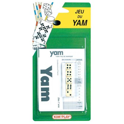 WDK PARTNER Jeu de Yam et bloc-notes - multicolore