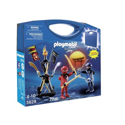 PLAYMOBIL Knights - Valisette Ninjas - multicolore
