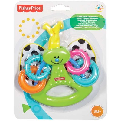 FISHER PRICE Hochet papillon sensation - multicolore