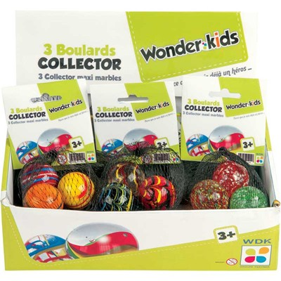 WONDERKIDS 3 boulards collector - multicolore