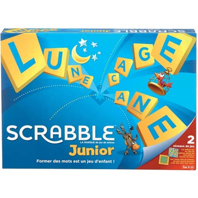 Mattel Scrabble junior - jeu de société - multicolore