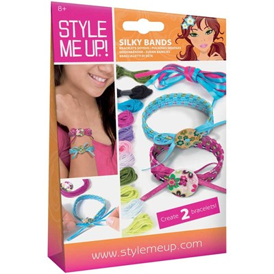 BUKI Style me up! - Kit de création de bracelets - multicolore