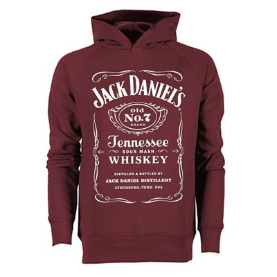 Jack Daniels - Sweat - bordeaux