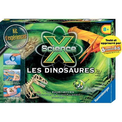 RAVENSBURGER Science x - Kit du petit paléontologue - multicolore