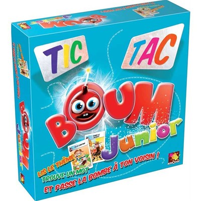 Asmodee Editions tic tc boum junior - multicolore