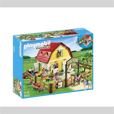 PLAYMOBIL Country - Ranch avec poneys - multicolore
