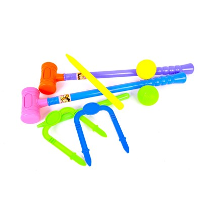 WONDERKIDS Set de croquet - multicolore
