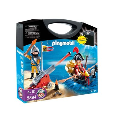 PLAYMOBIL Valisette pirate et soldat - multicolore