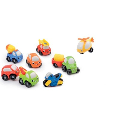 SMOBY Coffret collector 9 véhicules Vroom Planet - multicolore