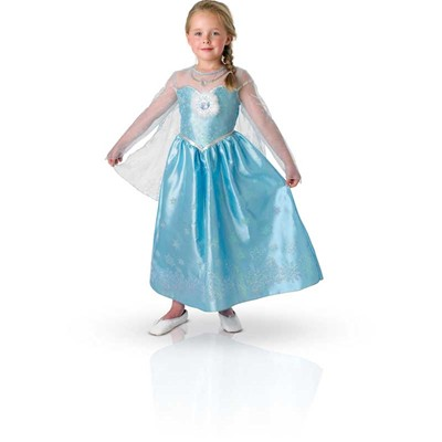 Costume Frozen Elsa Luxe - multicolore