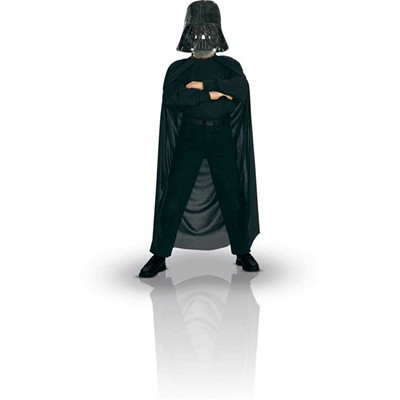 RUBIE'S Star Wars - Kit Cape et masque de Dark Vador - multicolore