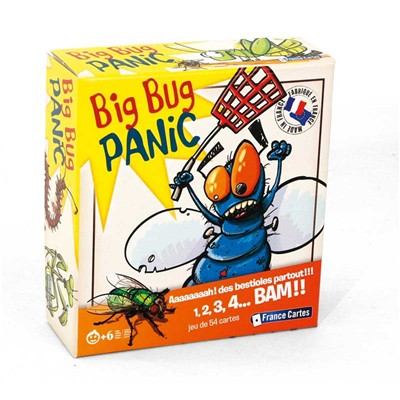 CARTAMUNDI Big bug panic - multicolore