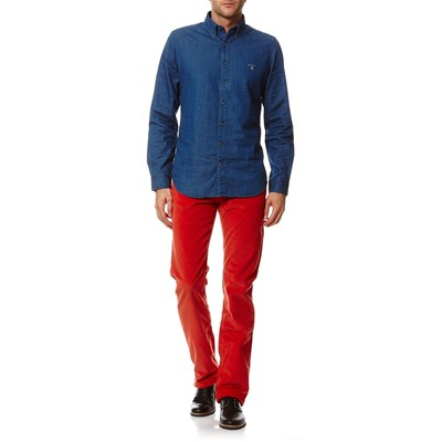 GANT Pantalon en velours côtelé - orange