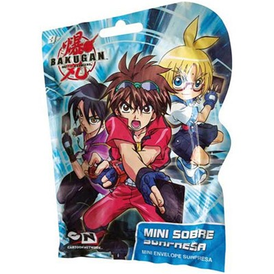 JOUCEO Pochette surprise Bakugan - multicolore