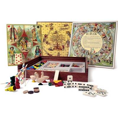 Jeujura Coffret de jeux tradition - multicolore