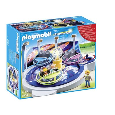 PLAYMOBIL Summer Fun - Attraction lumineuse - multicolore