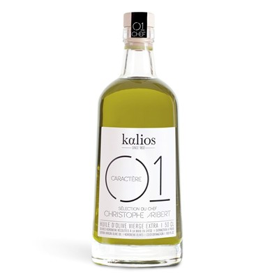 KALIOS 3 Huiles d'olives vierge extra 01 CARACTERE 500ml