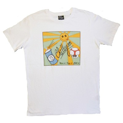 CHILLGREEN T-shirt - blanc