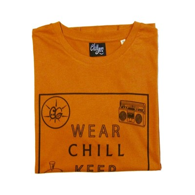 CHILLGREEN T-shirt - bronze