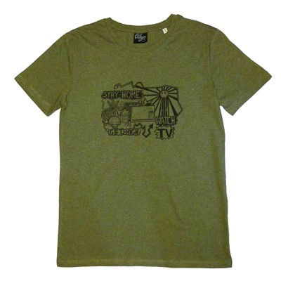 CHILLGREEN T-shirt - kaki