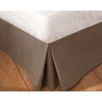 BECQUET Housse cache-sommier - taupe