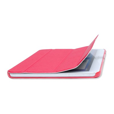 Samsung Galaxy Tab 4 - Housse smart cover - rose