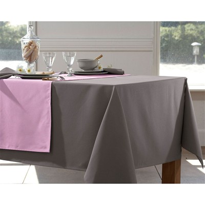 BECQUET Lot de 3 serviettes entretien facile - marron taupe