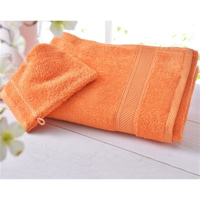 BECQUET Drap de bain unies 450g/m2 - orange