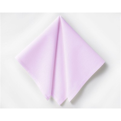 BECQUET Lot de 6 serviettes de table - lilas