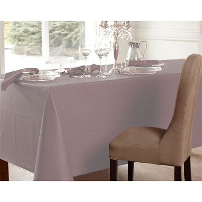 BECQUET Nappe de table 265 g/m² - violet