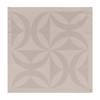 LJF BY Ellipse - Serviette de Table - beige