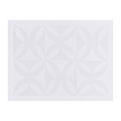 LJF BY Ellipse - Sets de table - blanc