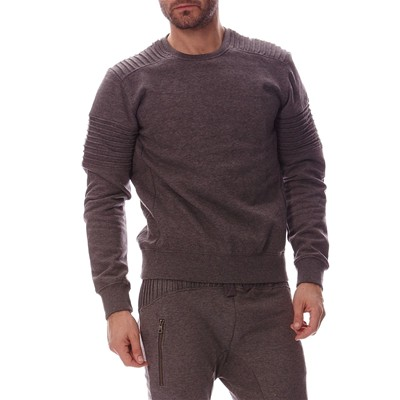 HOPE N LIFE MERZINX#E - Sweat-shirt - gris chine